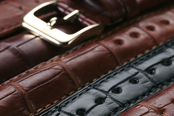 Hirsch Leather Watch Bands