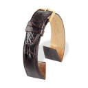 Hirsch Certified Croco Marron brillant