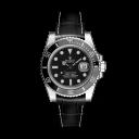 RSA Submariner Preto fosco/Fio branco