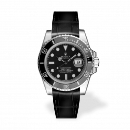 RSA Submariner Schwarz matt