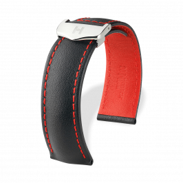 HIRSCH Speed Calf Negro/Hilo rojo