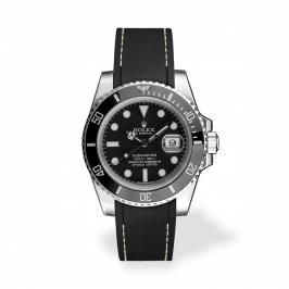 RSR Submariner Black/White Seam