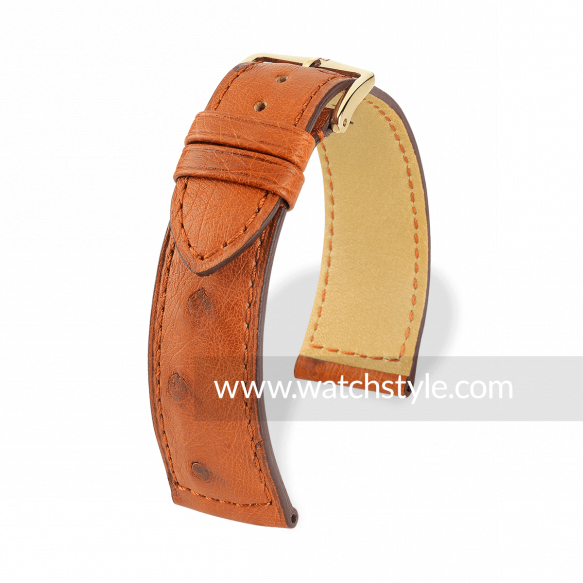 HIRSCH Ostrich Gold Brown