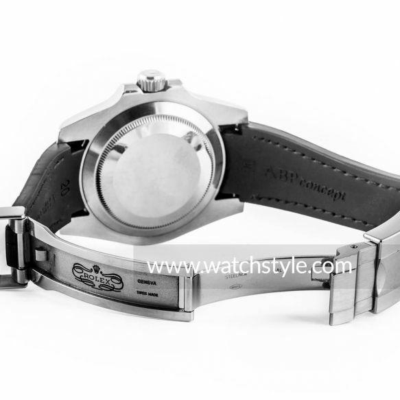 Rolex Oysterlock/Glidelock - Fijación de la correa