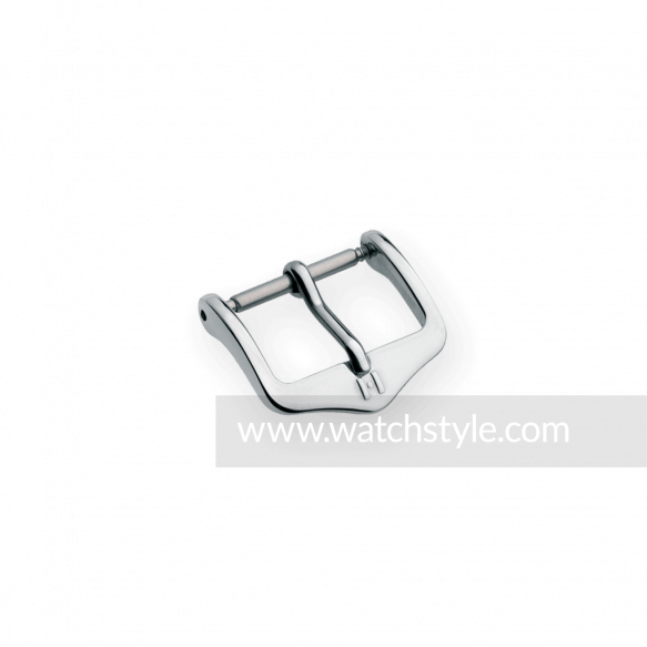 HIRSCH Classic Buckle Staal glans