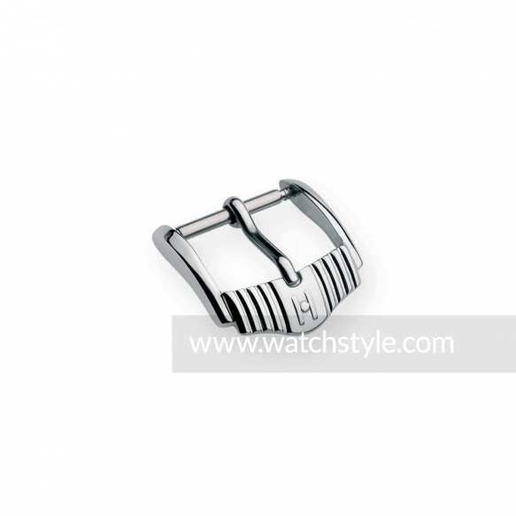 HIRSCH Elegance Buckle Steel Shiny