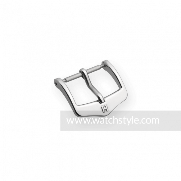 HIRSCH Sport Buckle Steel Shiny