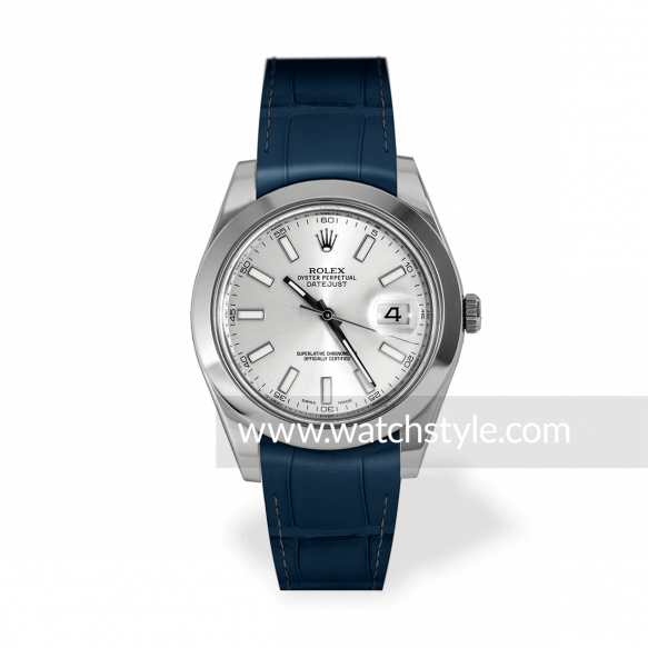 RSA Datejust II Blau matt
