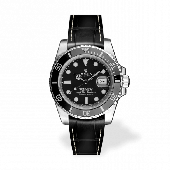 RSA Submariner Black Matt/White Seam