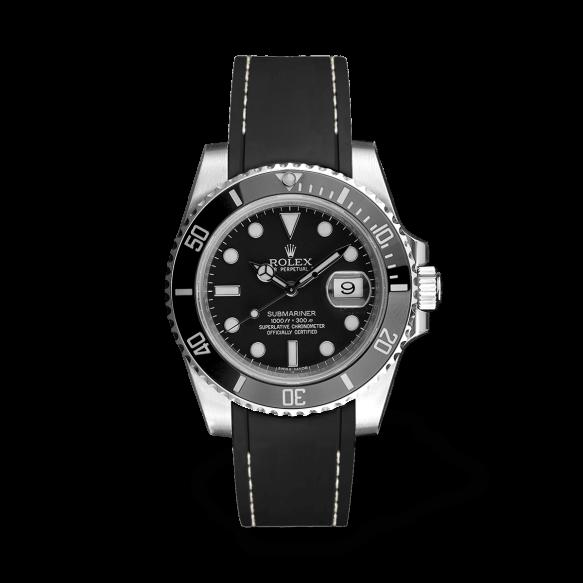 RSR Submariner Preto/Fio branco